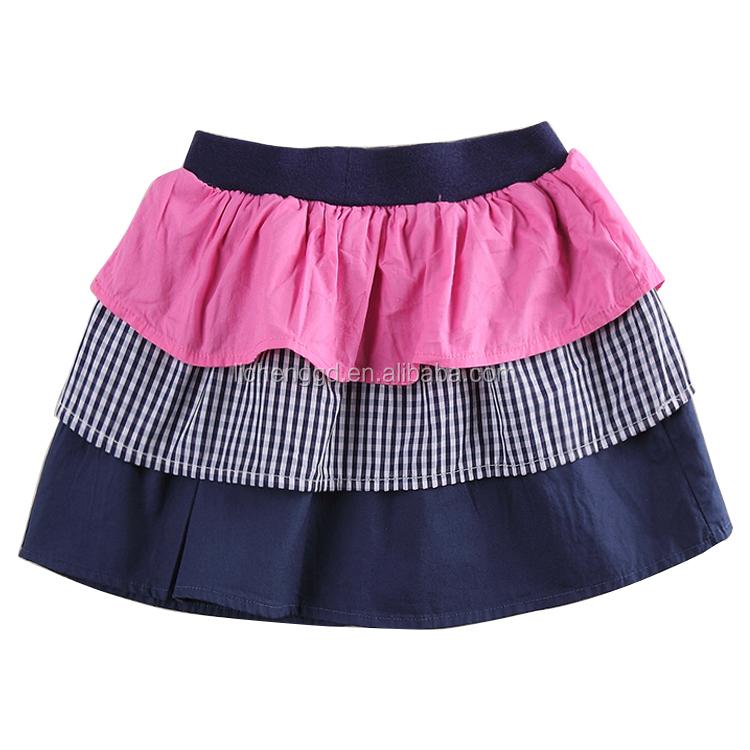 (m5923)wholesale Children Clothing New Design Baby Girl Skirt Cute Plaid Short Skirt For Kids ...