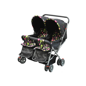 Double seat convenient twin baby stroller HN-H946
