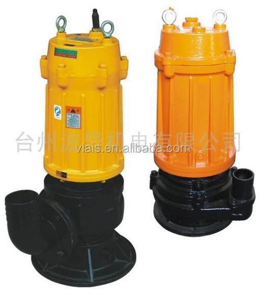WQ type sewage submersible pump , centrifugal submersible pump, submersible pump manufacturer