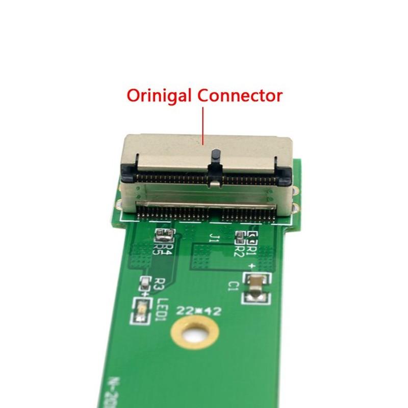 Apple Macbook Air Pro 2013 2014 2015 SSD to PCI-Express PCI-e 4x Convertor-Card