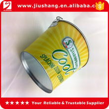 christmas tin beer ice buckets with customized logo