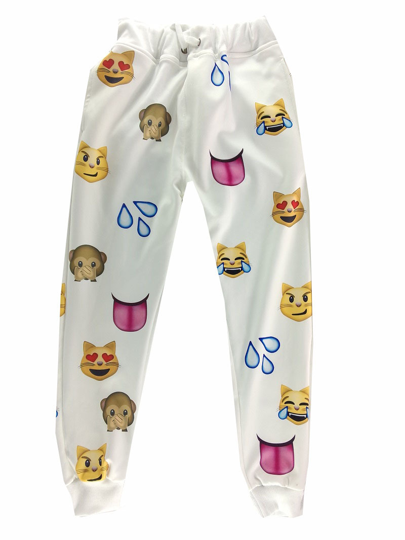 31c3df78f00ae5 Awesome 3D Explosion Models Emoji Joggers Jogging Pants For Men And Women