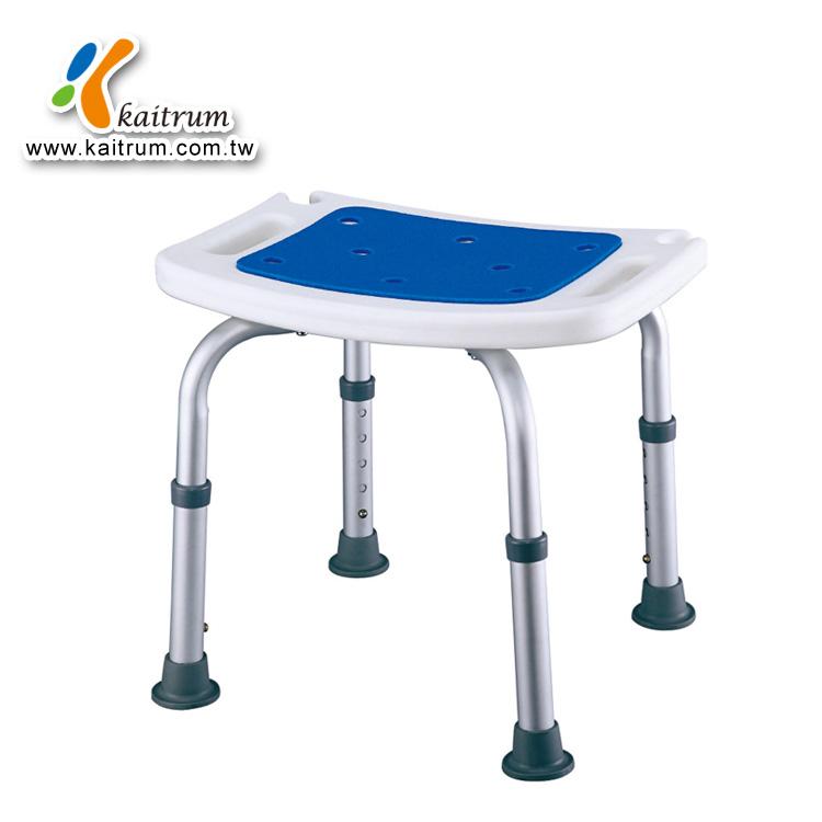 Aluminum Adjustable Padded Bath Shower Chair Shower Stool - Buy ...