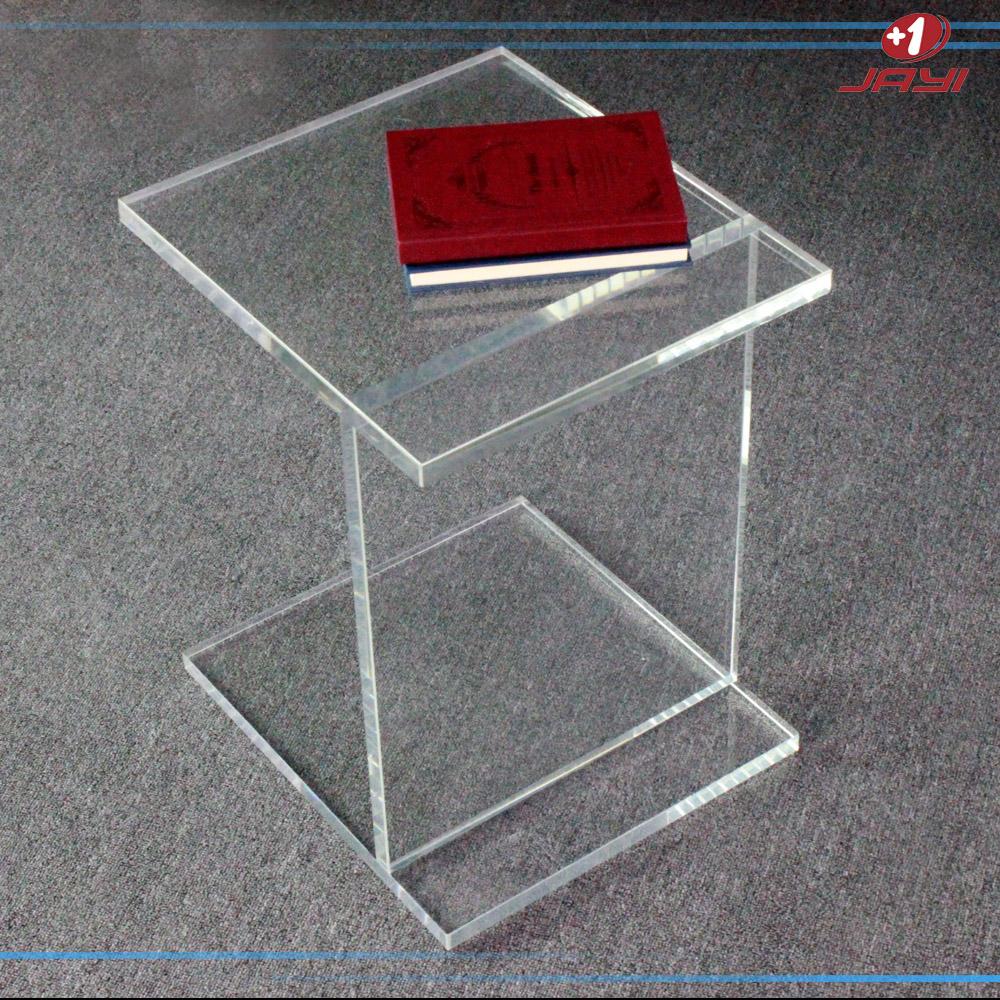 Table De Nuit Plexiglas table de chevet en plexiglas. fabulous chaise en plexi avec tabouret