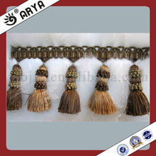 Wholesale Fashion High Quality Brush Tassel Fringe,Curtain Accessory Used For Dress,Garment Decoration