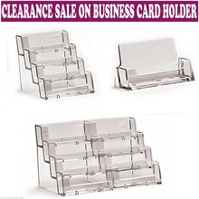 Desktop Dispensers Display Stands Acrylic Business Card Holders
