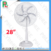 28inch solar powered electric fan with LED light