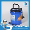 patent product high quality 16L plastic mop bucket with wheels