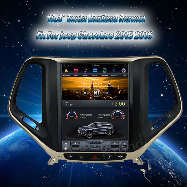 android for Jeep Cherokee