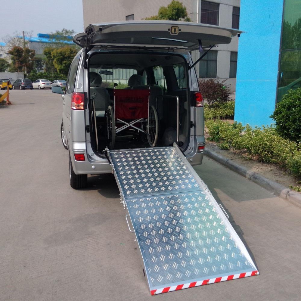 61f63aa9aa Bmwr-2 Wheelchair Loading Platform Wheelchair Ramp For Van Minibus - Buy  Electric Wheelchair Ramp