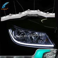 B-deals universal car LED strip,12v led Scalable Tear Eyes DRL for all cars
