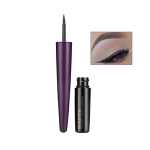 No Smudge Private Label Glitter Metallic Liquid Eyeliner