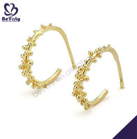 Fashion Hot Sale New Design 24 carat gold earrings