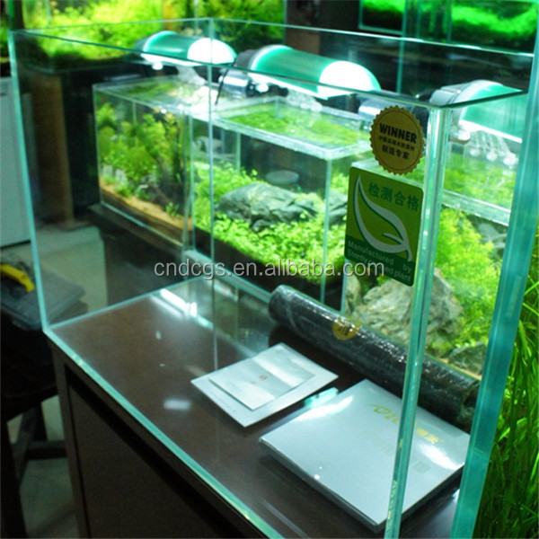 Dici Wholesale Glass Aquarium Fish Farming Tank