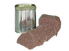 Organic and health luncheon meat in tins with easy open