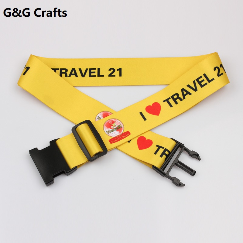 Personalized Luggage Belt Strap with Custom <strong>Logo</strong>