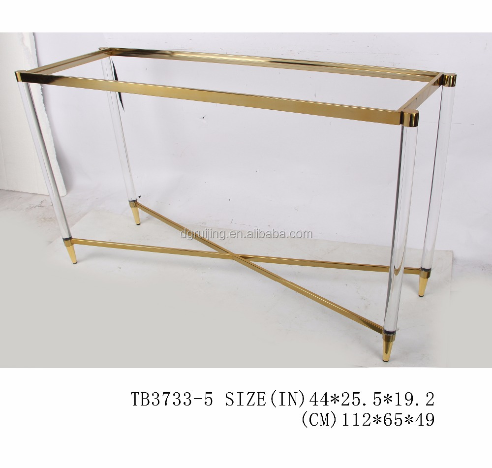 clear acrylic console table clear acrylic console table suppliers and at alibabacom