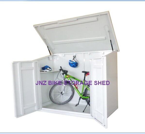 Rainproof shed for motorcycler