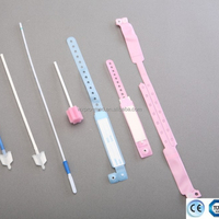 Disposable Plastic Medical ID Band bracelets