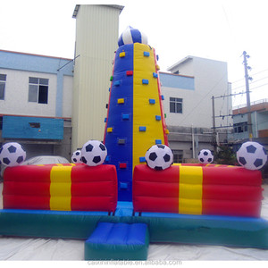 inflatable rock climbing sports games for sale