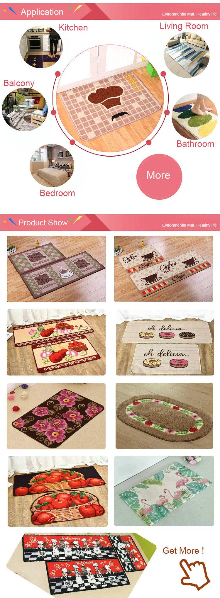 FSC-019 persa moderno diseño personalizado impreso son alfombra de la sala para la casa