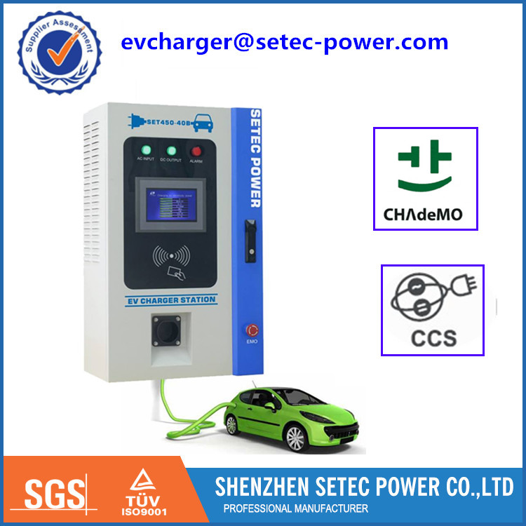 EV DC fast charge station for electric car with GB/T quick charger connector FOR BYD