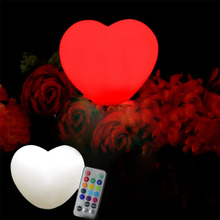2017 Christmas decor led lighting neon heart light