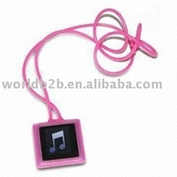 Necklace Silicon Skin Case for iPod Nano 6
