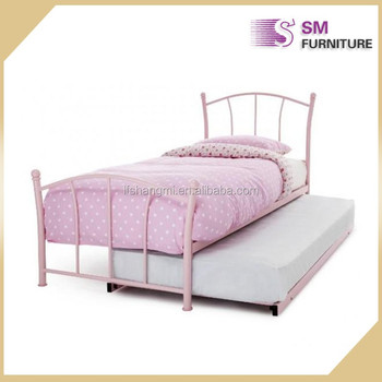 Modern single high quality metal bed for bedroom set buy for Good quality single beds