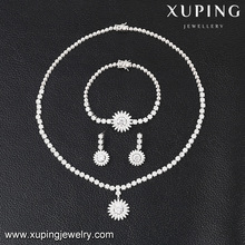 S-41 Xuping western wedding 3-sets for girls,alibaba express jewelry wedding sets,bohemian jewelry