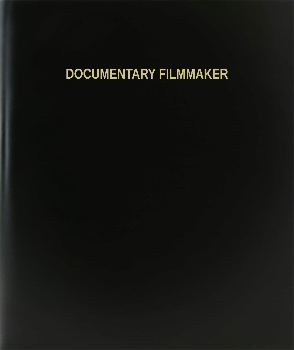 "BookFactory® Documentary Filmmaker Log Book / Journal / Logbook - 120 Page, 8.5""x11"", Black Hardbound (XLog-120-7CS-A-L-Black(Documentary Filmmaker Log Book))"