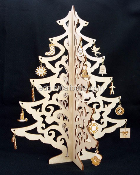 snowflake shape Christmas tree ornament home decoration