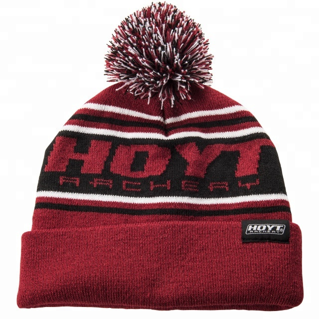 d1cfda1f647 Popular winter headgear customize create your own bobble hat woolen beanie  pom knit hat