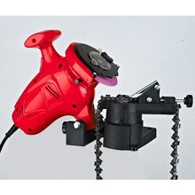 TOLHIT 100mm 250W Power Chain Saw Sharpening Grinder Machine Garden Tools Portable Electric Chainsaw Sharpener