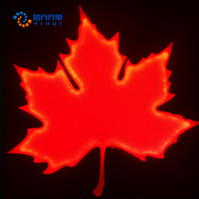 Factory Direct Ultra Thin / Slim Special Shape Maple Leaf LED Light Panel for Advertising and Decoration