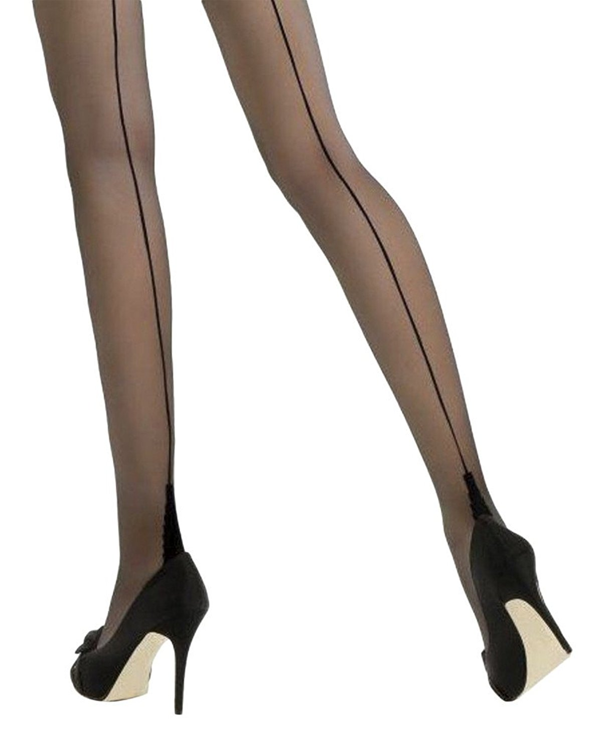 Black Tights Children Girls Pamela Mann 40 Denier Footed Opaque Tights