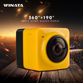 New Arrival 360 720P Action Camera H 264 360 Degrees Panorama Wifi Underwater Camera 360x190 Large