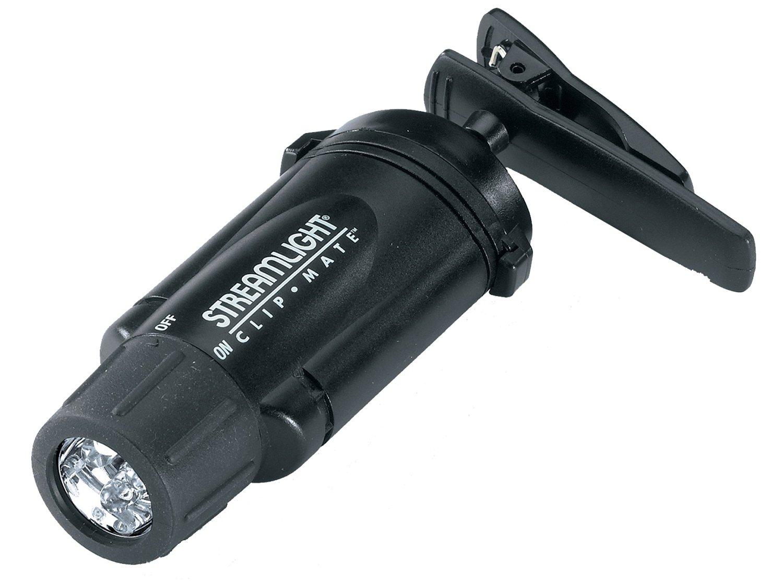 Streamlight 61101 ClipMate Ultra Bright Headlamp with Three White LEDs, Black