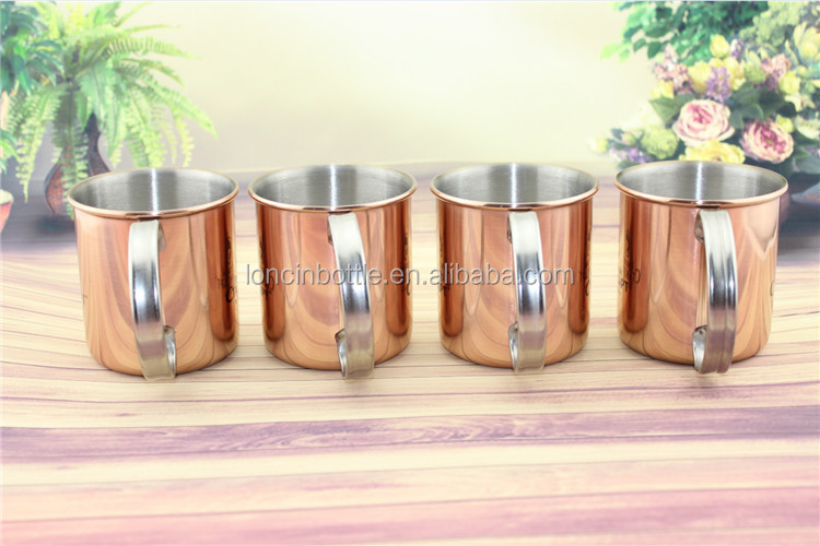 moscow mule cocktail cup 12oz copper mule mug ginger beer moscow mule mug - Copper Mule Mugs