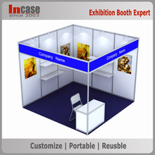 INCASE 3x3 Exhibition Booth Shell Scheme Booth
