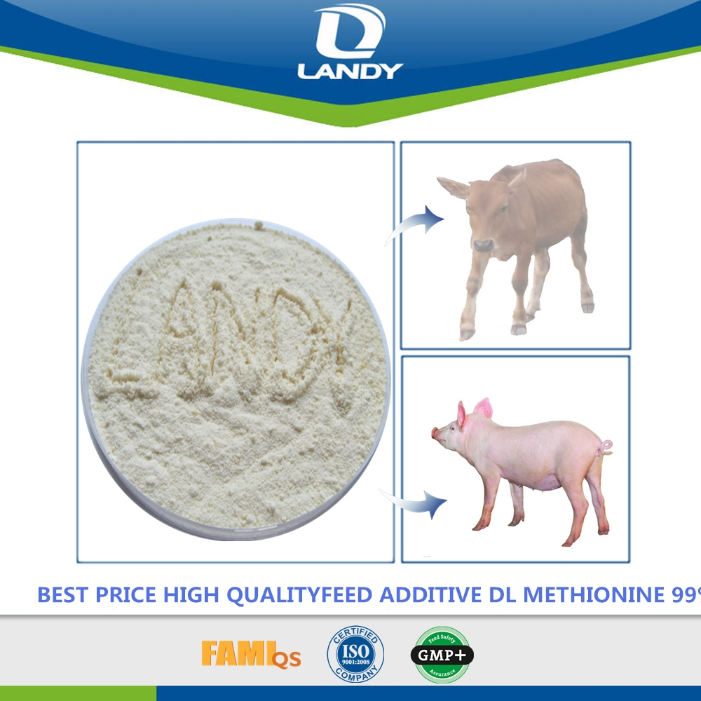 BEST PRICE NUTRITIVE ANIMAL FEED ADDITIVE DL METHIONINE 99%