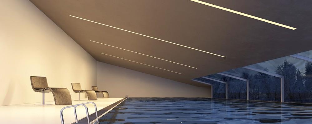 Luz Led Lineal De 4ft 1 2 M 40 W 50 W De Pared Interior
