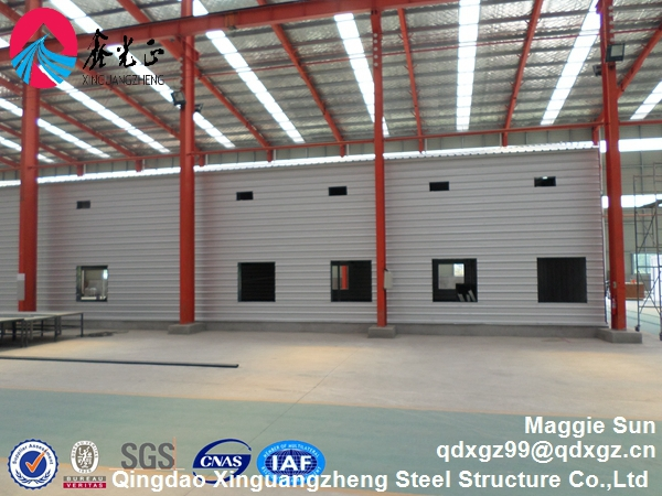 Steel retail building Commercial steel structure storage warehouse