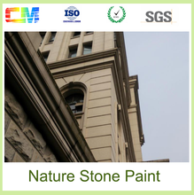 New design environmental friendly natural stonework effect natural stone exterior wall paint