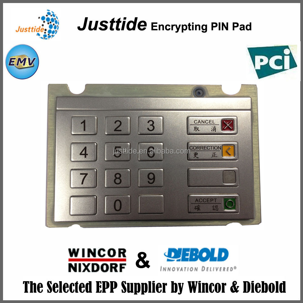 Best KeyPad Supplier for wincor with PCI certificate for sale