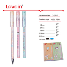 Top Grade Custom Cool School Student Pastel Promotional Color Gel Pens For Girls
