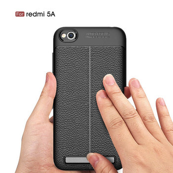 new styles 9e60d c73e7 Back Cover For Xiaomi Redmi 5a,For Redmi 5a Litchi Pattern Shockproof Soft  Tpu Case - Buy Tpu Case For Xiaomi Redmi 5a,Black Case For Redmi ...