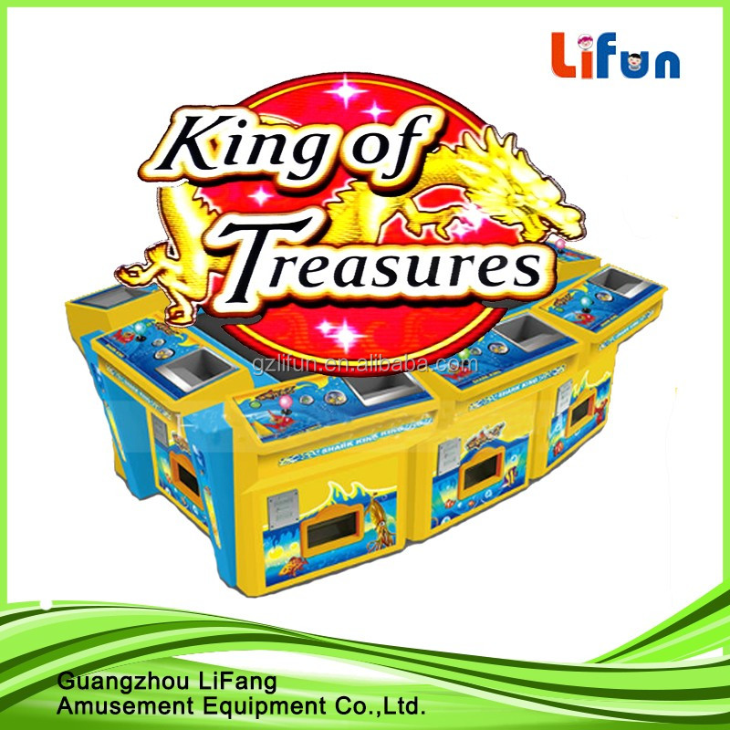 Top sale dragon king fishing game arcade 55 inch screen 8-players