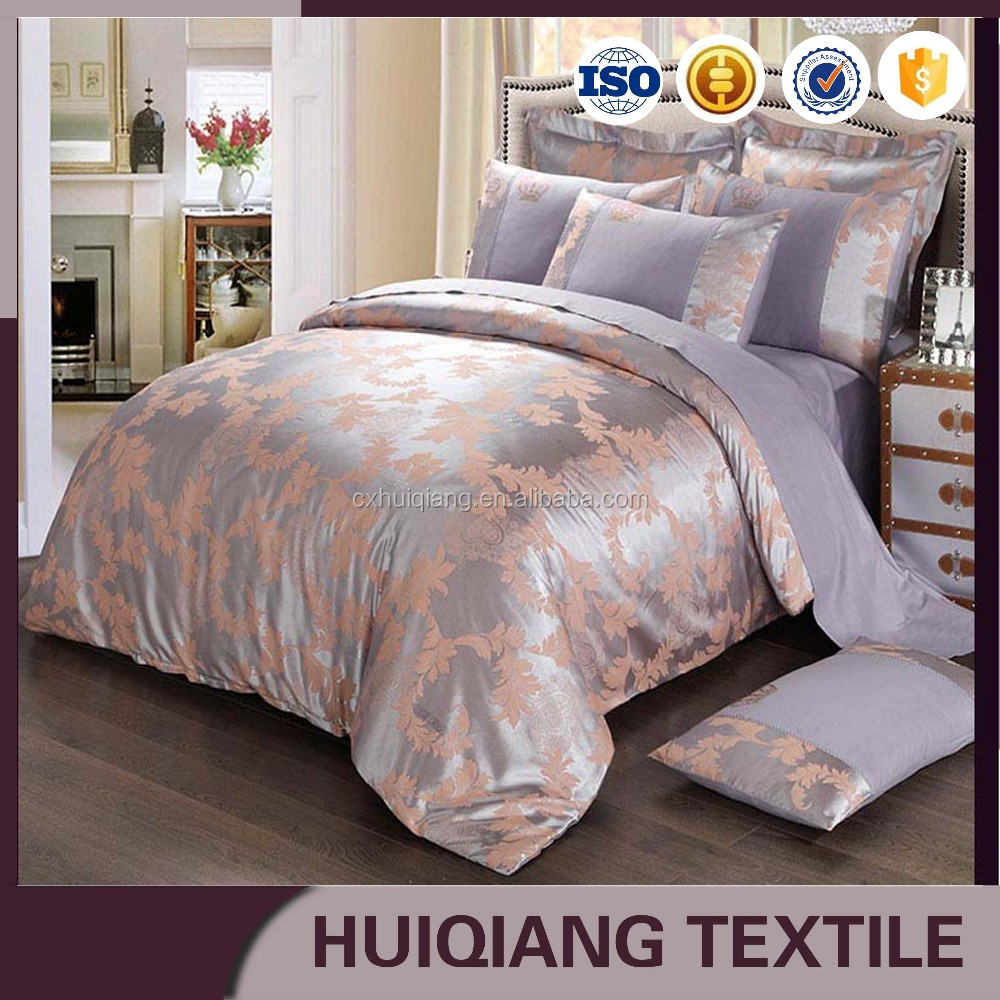 Five star hotel bedding set for the world hotel