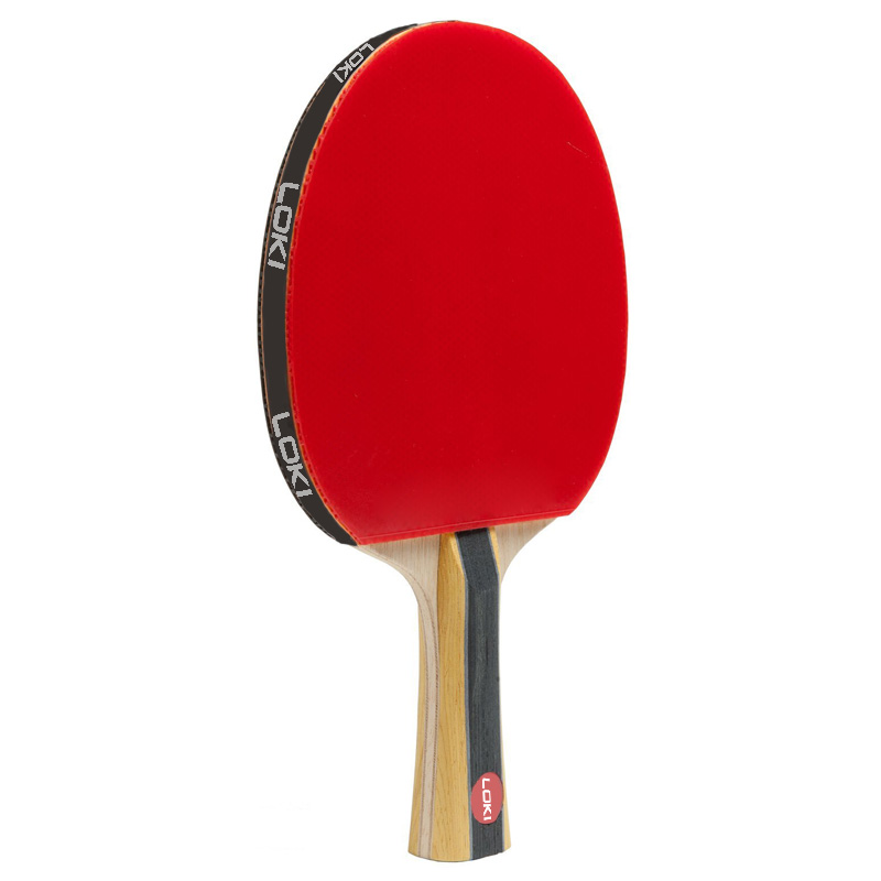 LOKI groothandel quick attack tafeltennis racket met rubber fabrikant ping pong paddle Custom hout carbon